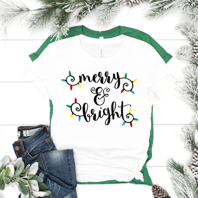 Merry & Bright Lights Tee