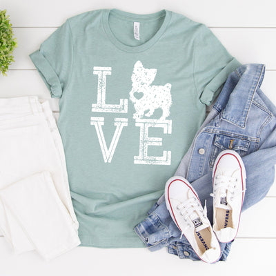 Love Dogs Yorkshire Tee - Limeberry Designs