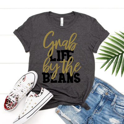 Grab Life By The Beans Tee - Limeberry Designs