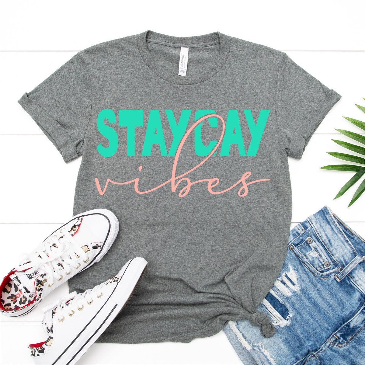 Staycay Vibes Tee - Limeberry Designs