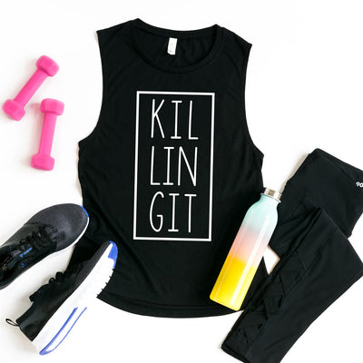 Killing It Workout Tank - Limeberry Designs