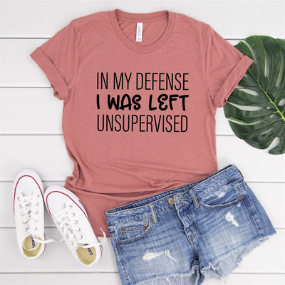 Left Unsupervised Tee - Limeberry Designs