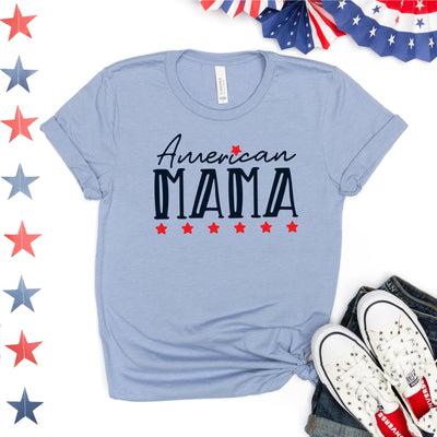 American Mama Tee - Limeberry Designs