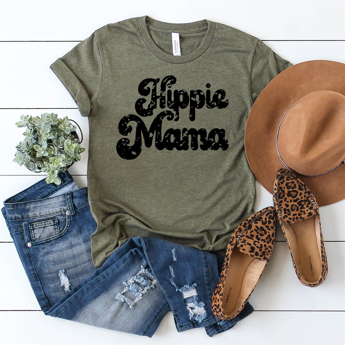 Hippie Mama Tee - Limeberry Designs