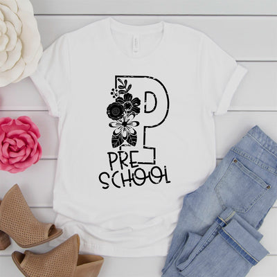 Preschool Teacher Tee - Limeberry Designs