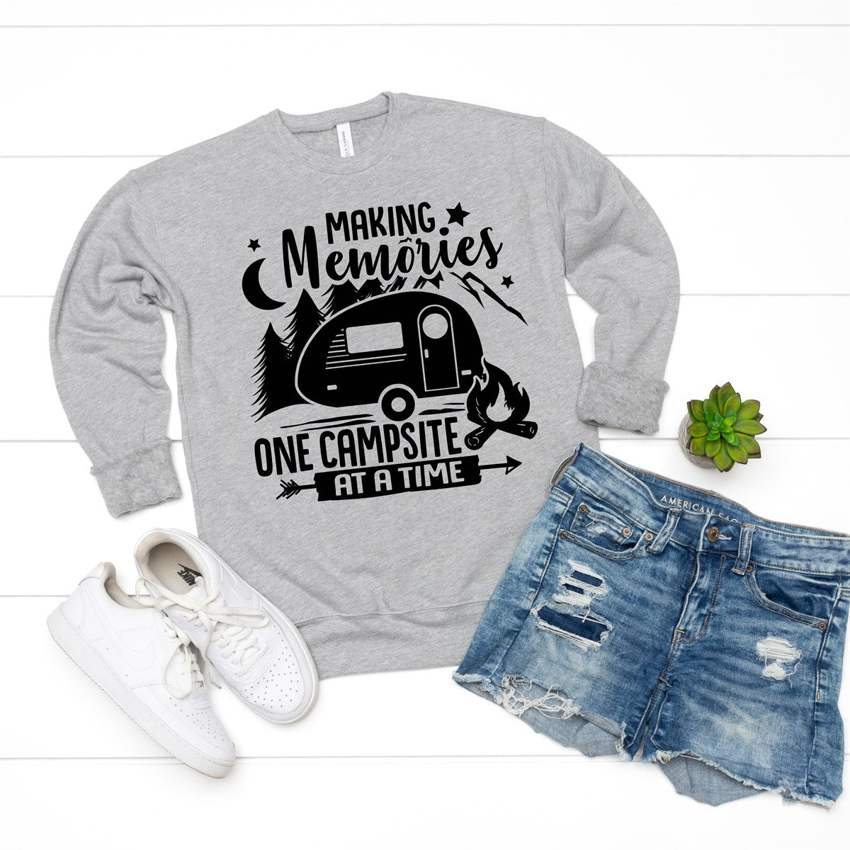 One Campsite At A Time Sweatshirt