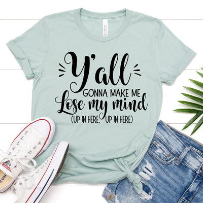 Lose My Mind Tee - Limeberry Designs