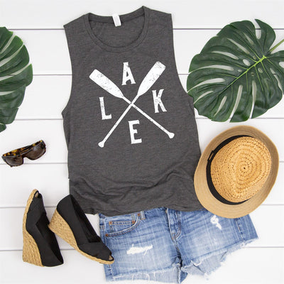 Lake Oars Muscle Tank