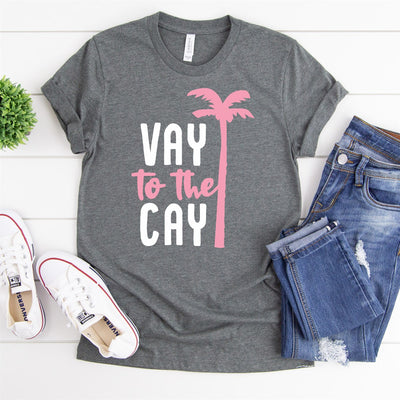 Vay To The Cay Tee - Limeberry Designs