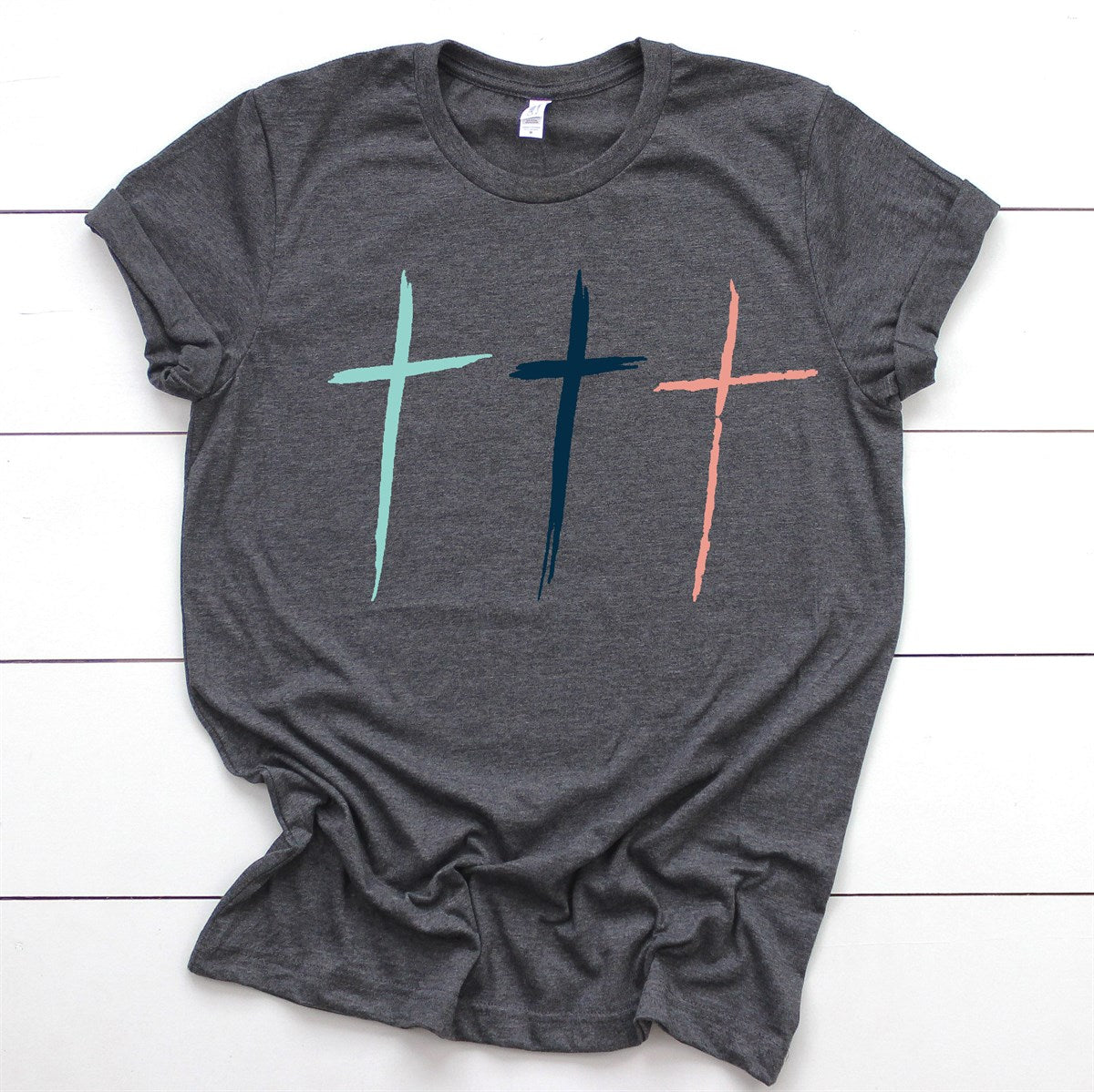 Three Crosses Tee - Limeberry Designs