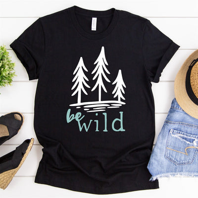Be Wild Tee - Limeberry Designs