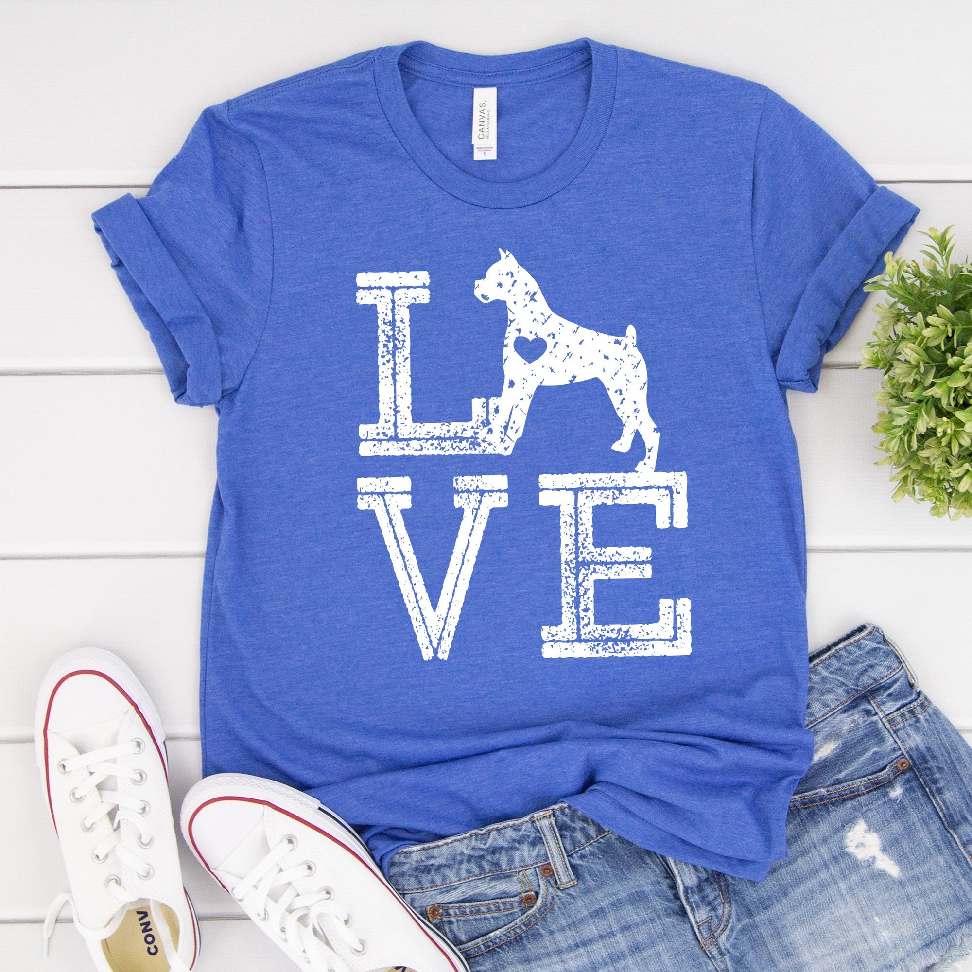 Love Dogs Boxer Tee - Limeberry Designs