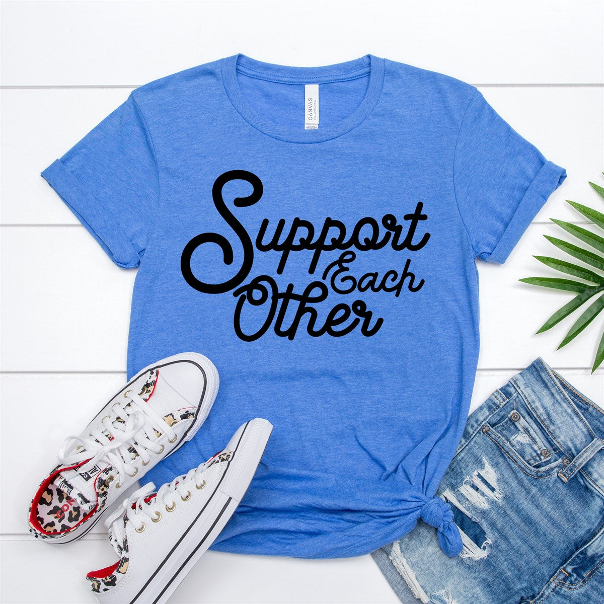 Support Each Other Tee - Limeberry Designs