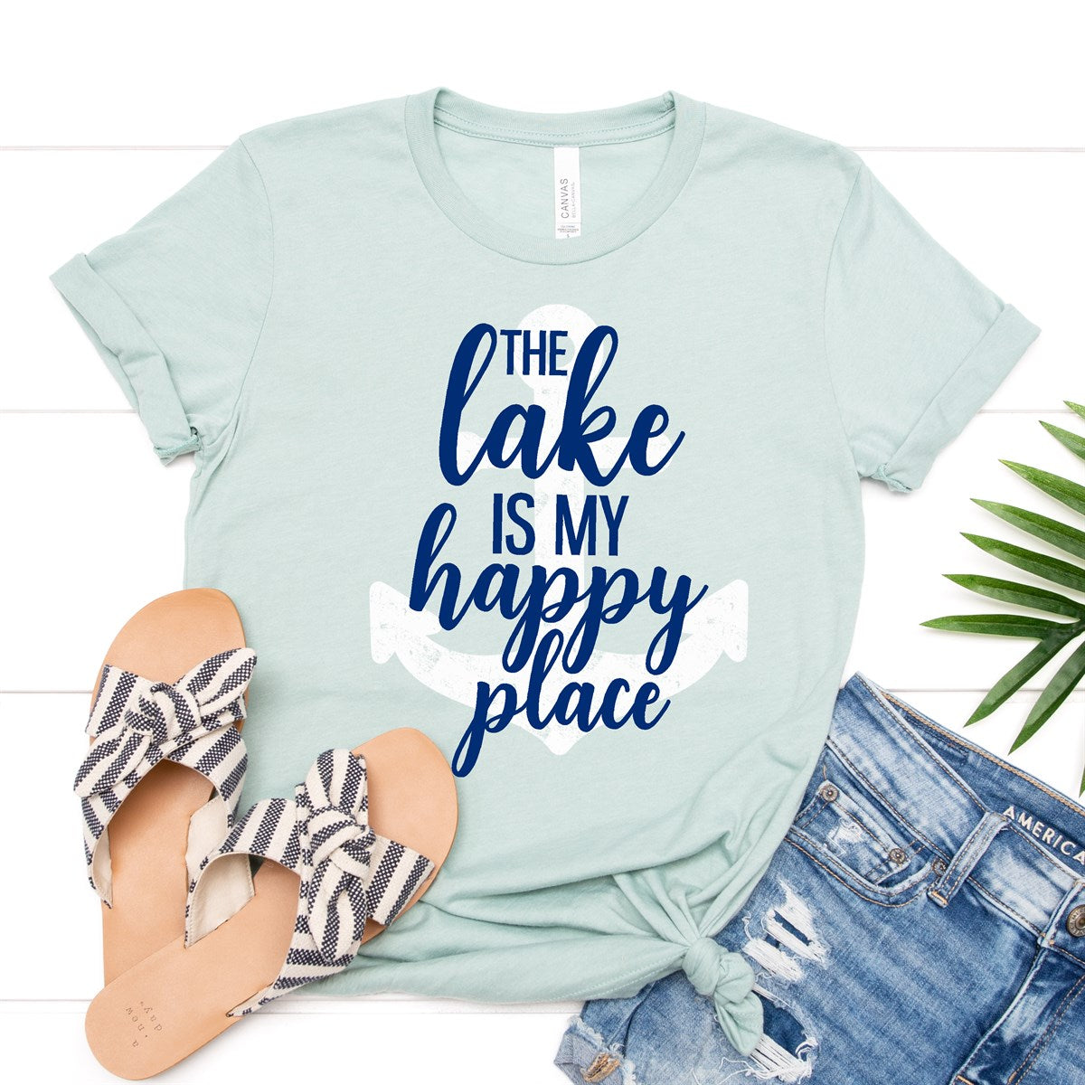 Lake My Happy Place Tee