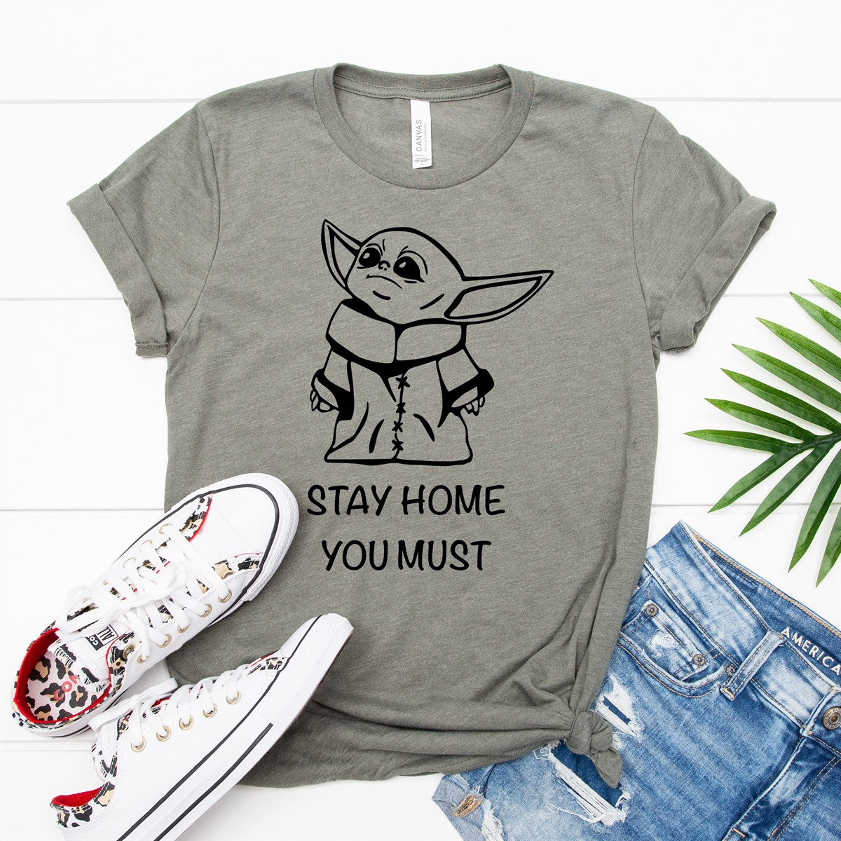 Stay Home You Must Tee - Limeberry Designs
