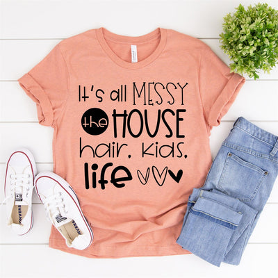 It's All Messy Tee - Limeberry Designs