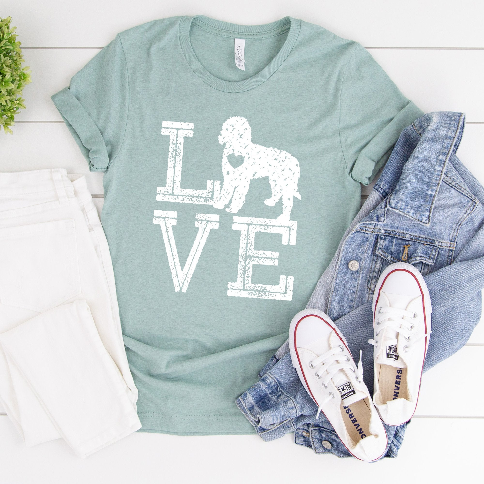 Love Dogs Doodle Tee - Limeberry Designs