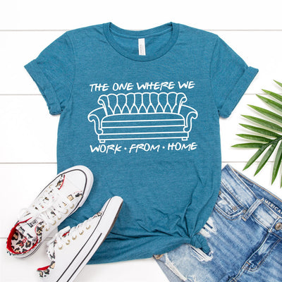 Work From Home Tee - Limeberry Designs