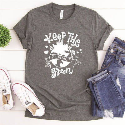 Keep The Planet Green Tee - Limeberry Designs