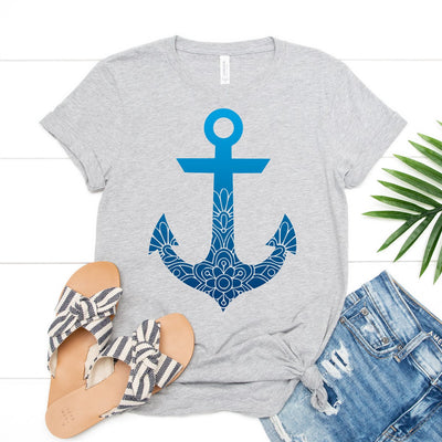 Mandala Anchor Tee - Limeberry Designs