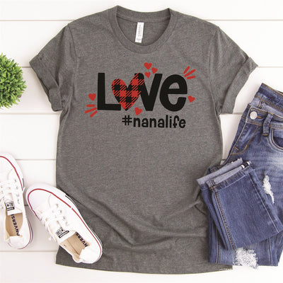 Love Nana Life Tee - Limeberry Designs