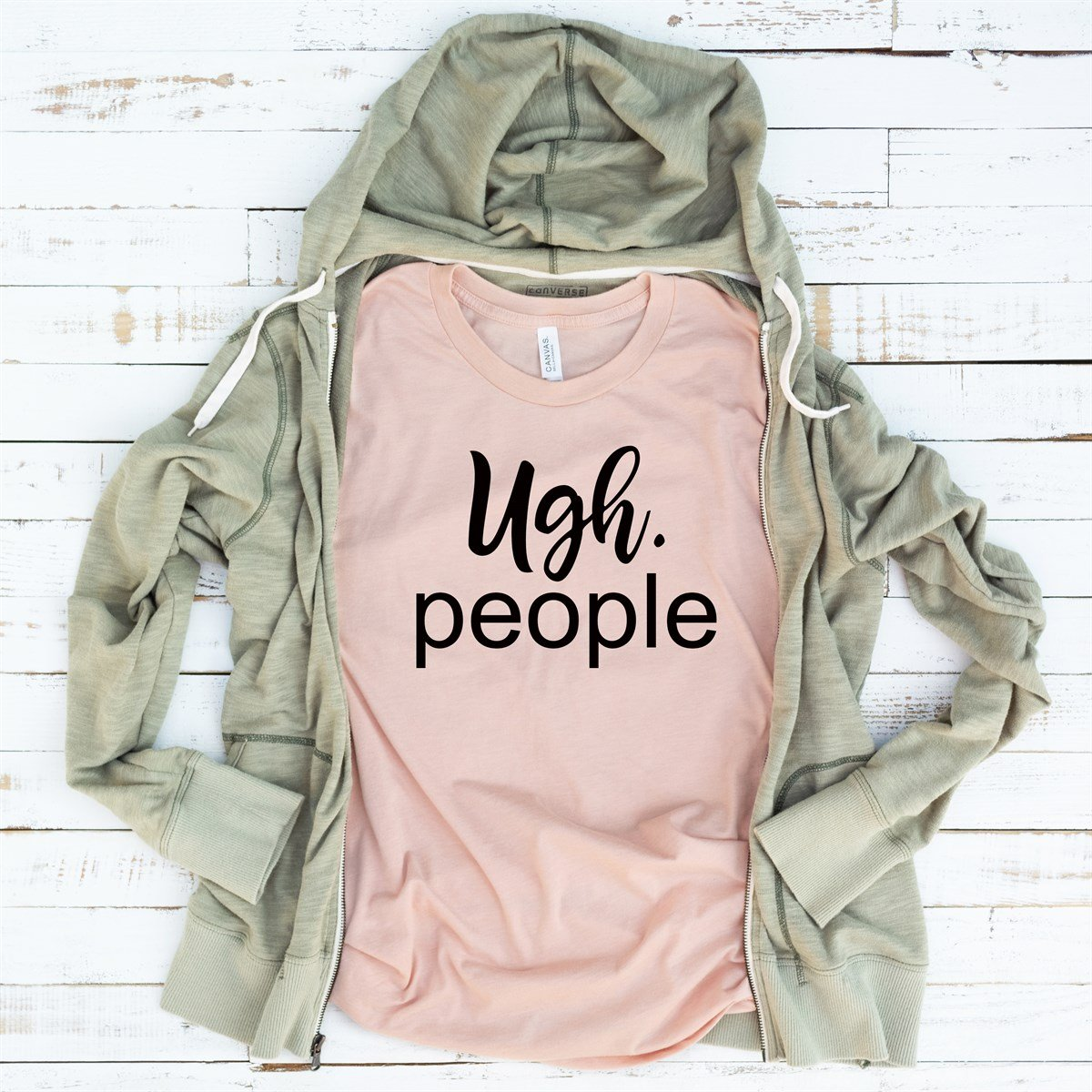 Ugh. People Tee - Limeberry Designs