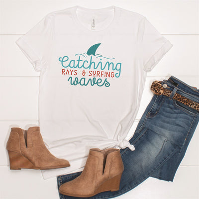 Catching Waves Tee - Limeberry Designs