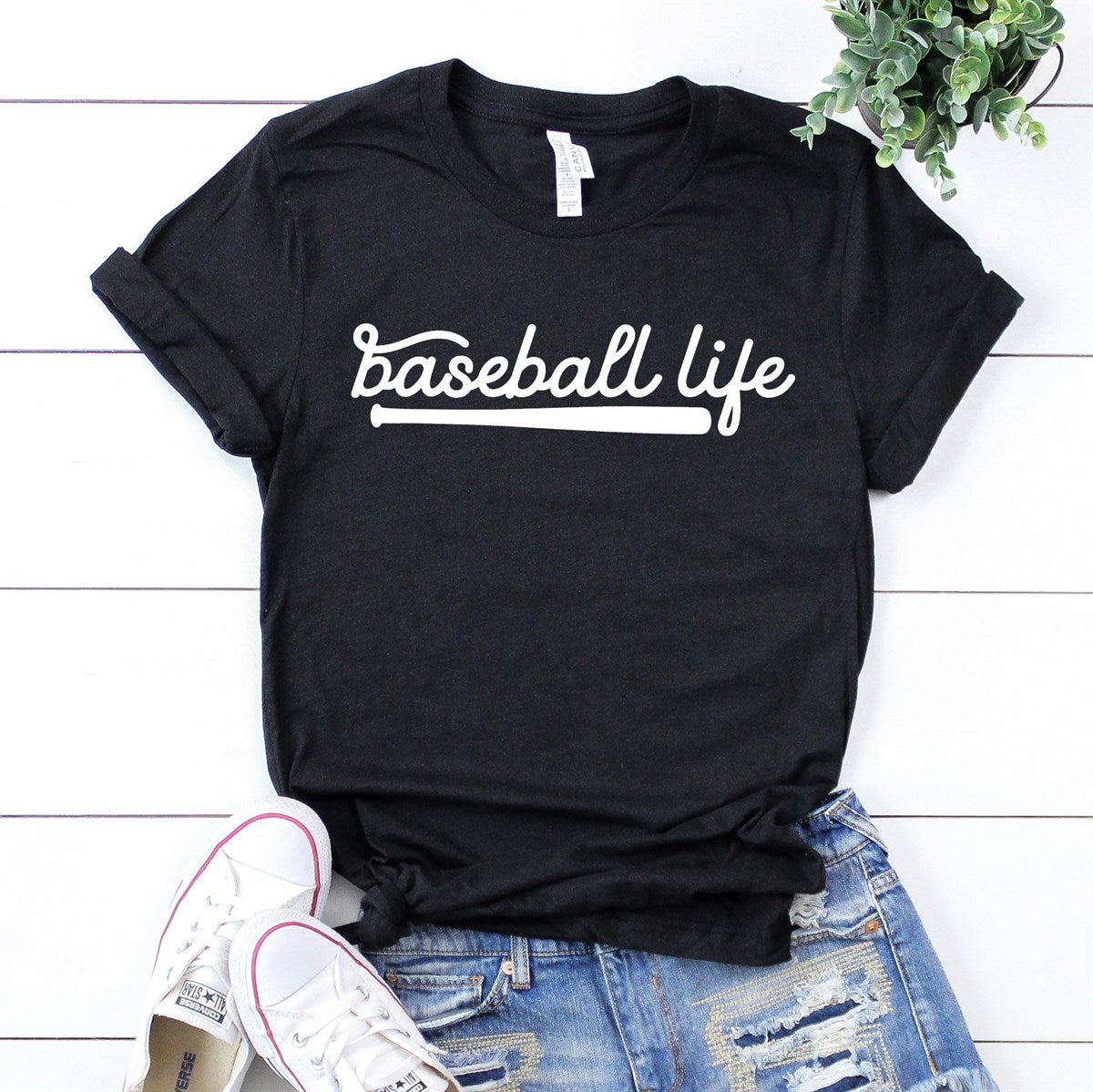 Baseball Life Tee - Limeberry Designs