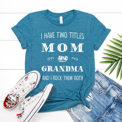 Mom And Grandma Tee - Limeberry Designs