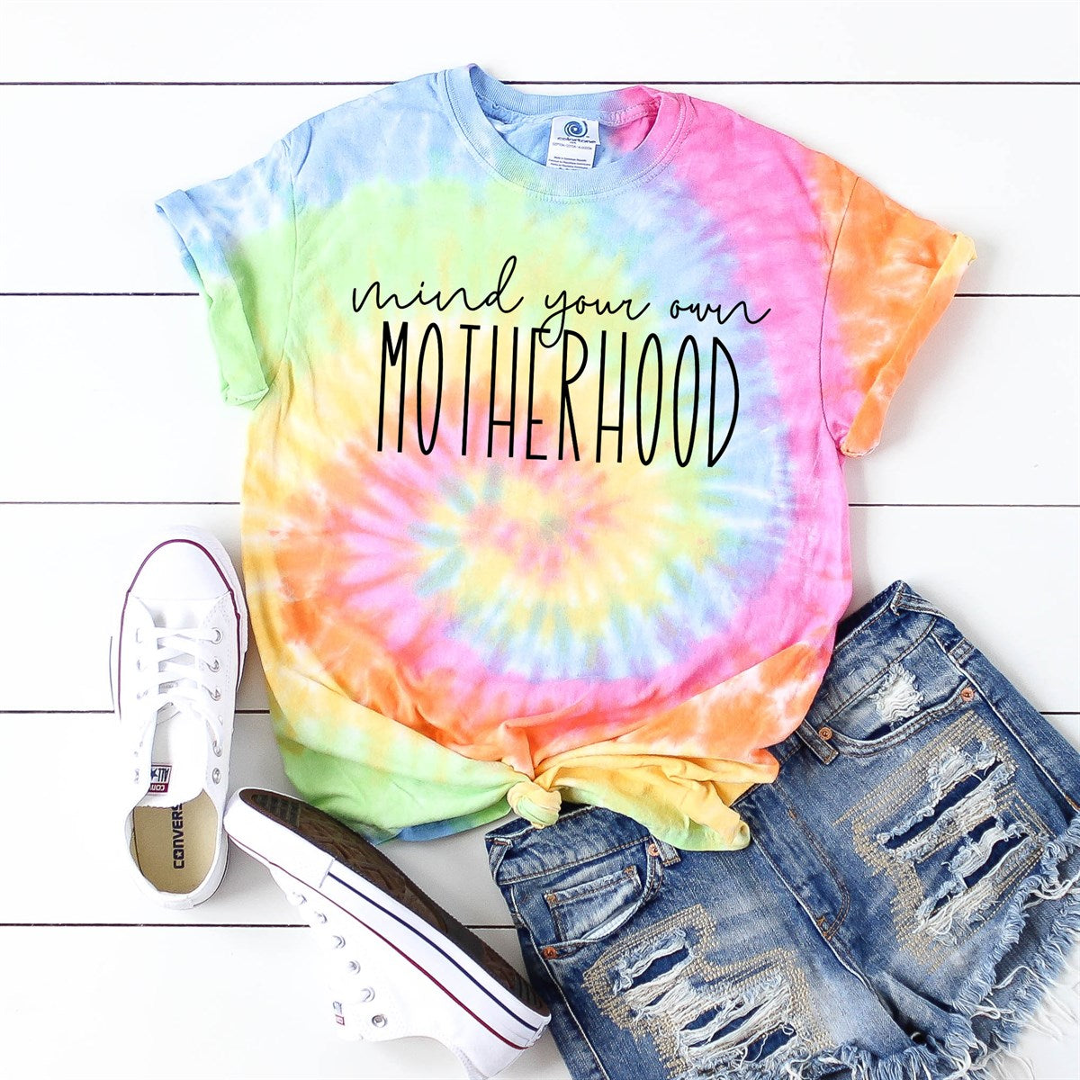 Mind Your Own Motherhood Tie Dye Tee