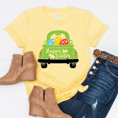 Happy Easter Truck Tee - Limeberry Designs