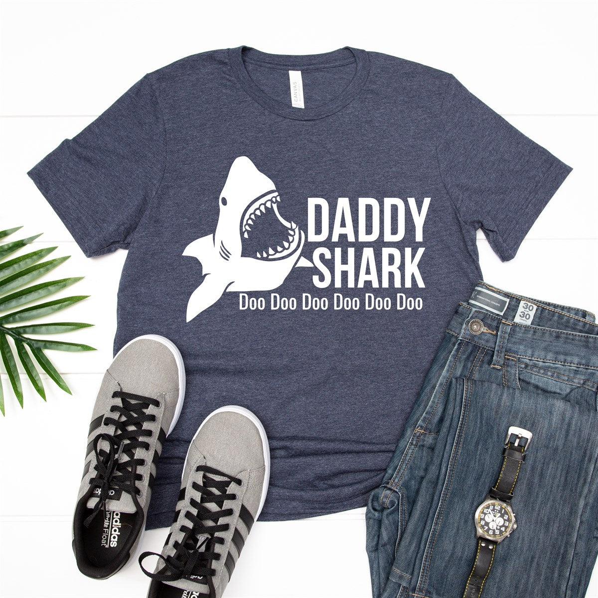 Daddy Shark Tee - Limeberry Designs
