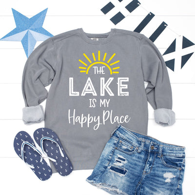 Lake Is My Happy Place Sweatshirt