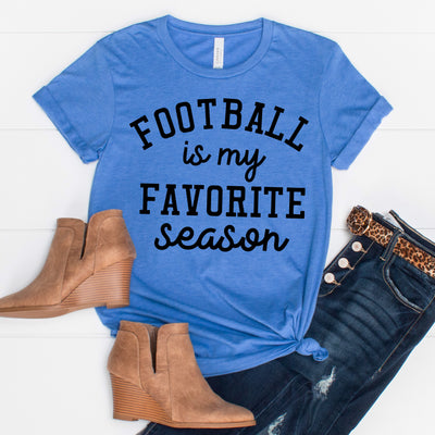 Football is my Favorite Season Tee - Limeberry Designs