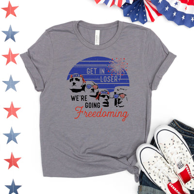 We're Going Freedoming Tee - Limeberry Designs
