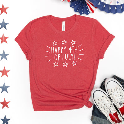 Happy 4th Of July Tee - Limeberry Designs
