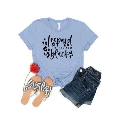 Leopard Is the New Black Tee - Limeberry Designs