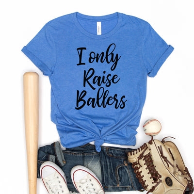 Raising Ballers Tee - Limeberry Designs