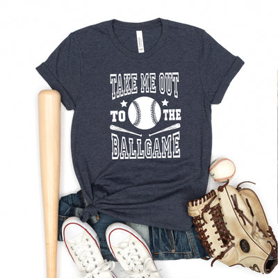 Take Me Out To The Ballgame Tee - Limeberry Designs
