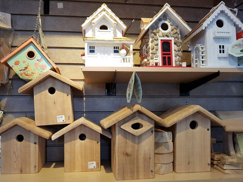 Bird Nesting Boxes at Wild Birds Unlimited, Vancouver, BC