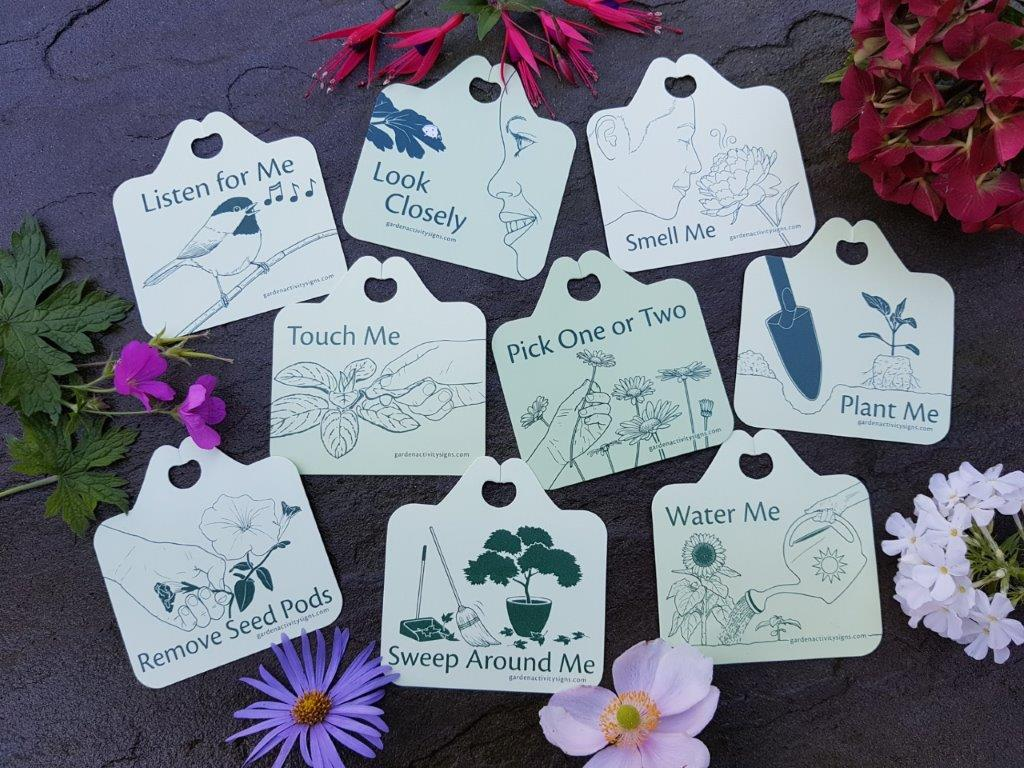 Flower Gardeners' Plant Tag Gift Set