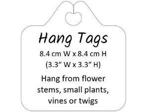 6 Gardening Plant Tags