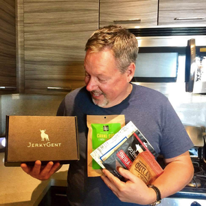 JerkyGent Father's Day Beef Jerky Subscription Box Gift