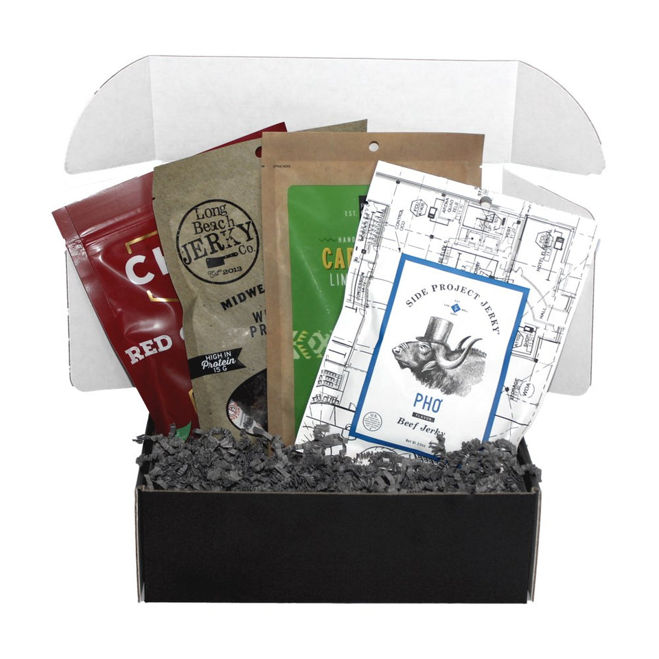 JerkyGent - The best beef jerky subscription box
