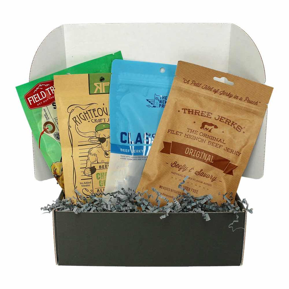 JerkyGent Craft Beef Jerky Subscription Box