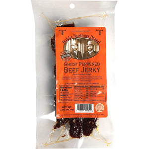Ghost pepper beef jerky by Bakke Brothers Beef Jerky