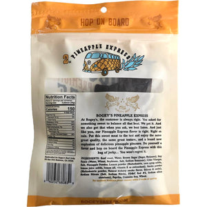 Bogeys Beef pineapple flavored beef jerky - nutrition facts