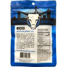 Boston Jerky Co Wicked Original Beef Jerky Back Of Package