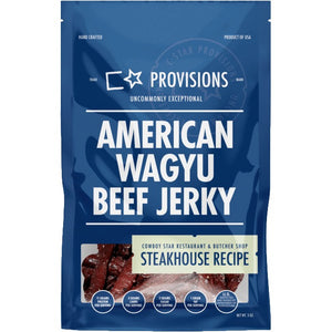 C Star Provisions American Wagyu Beef Jerky Steakhouse Flavored