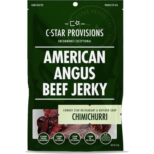 C Star Provisions Chimichurri Beef Jerky - American Angus